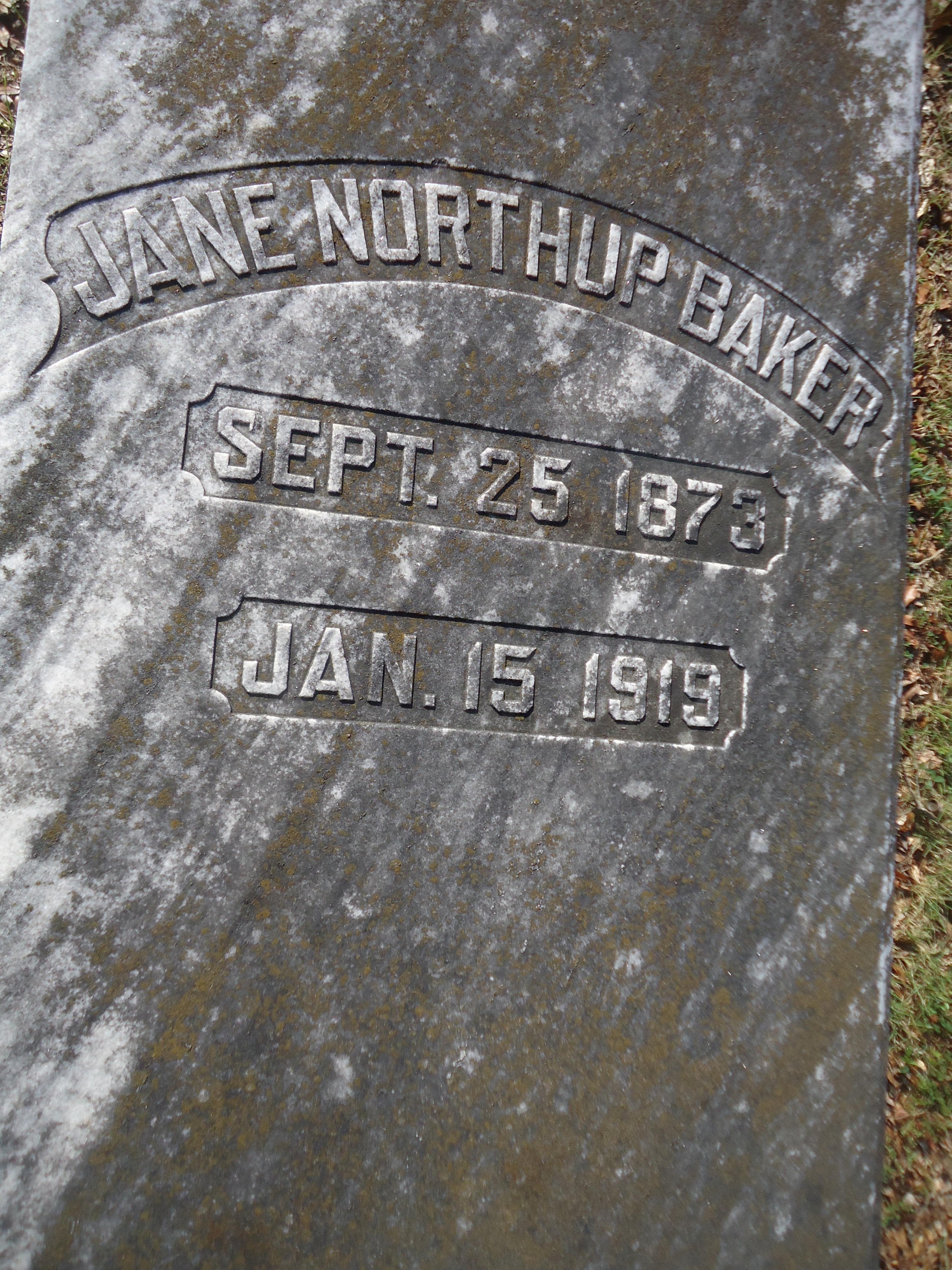 Jane Northup Baker
