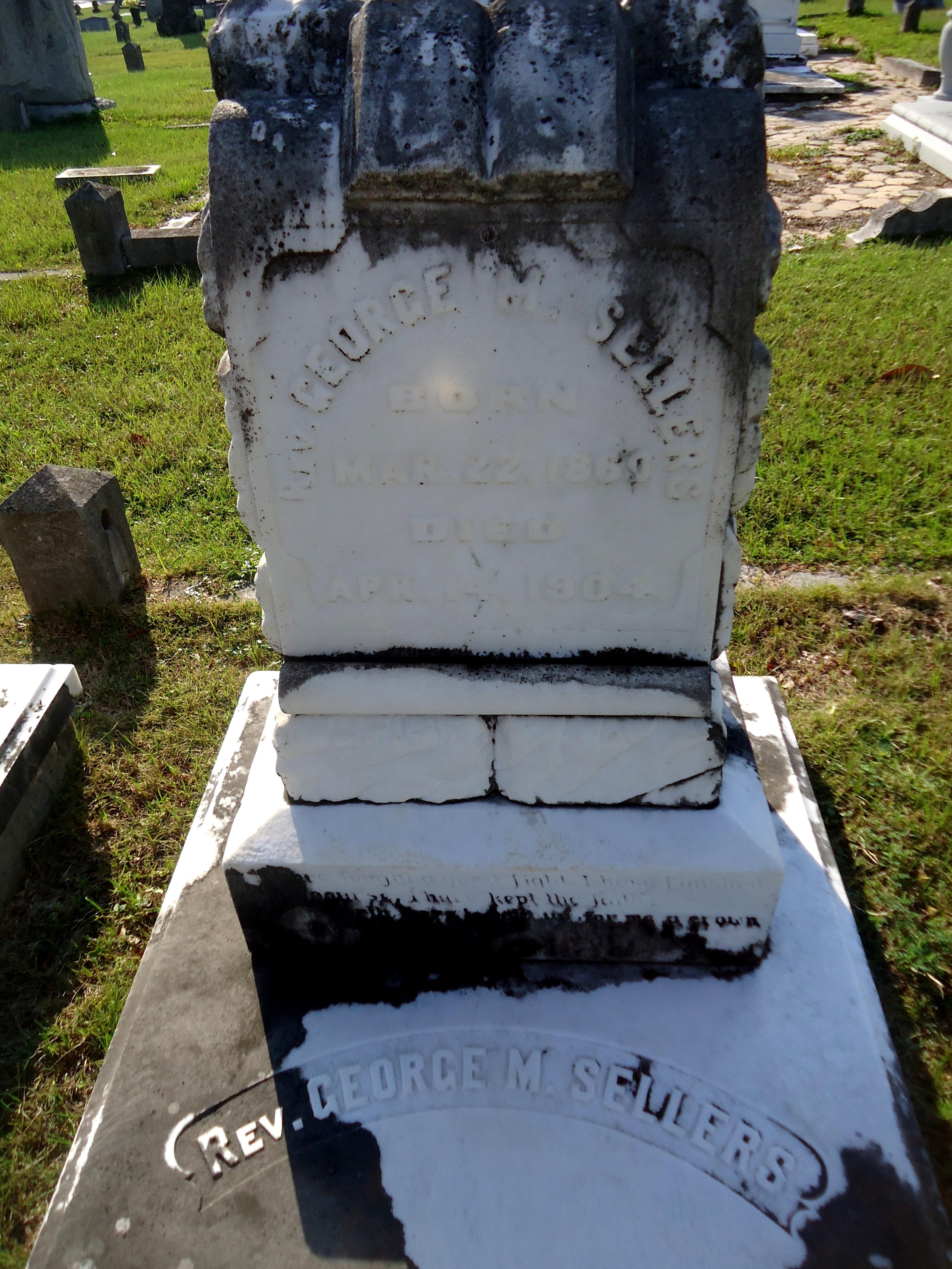 George Monroe   Rev. Sellers