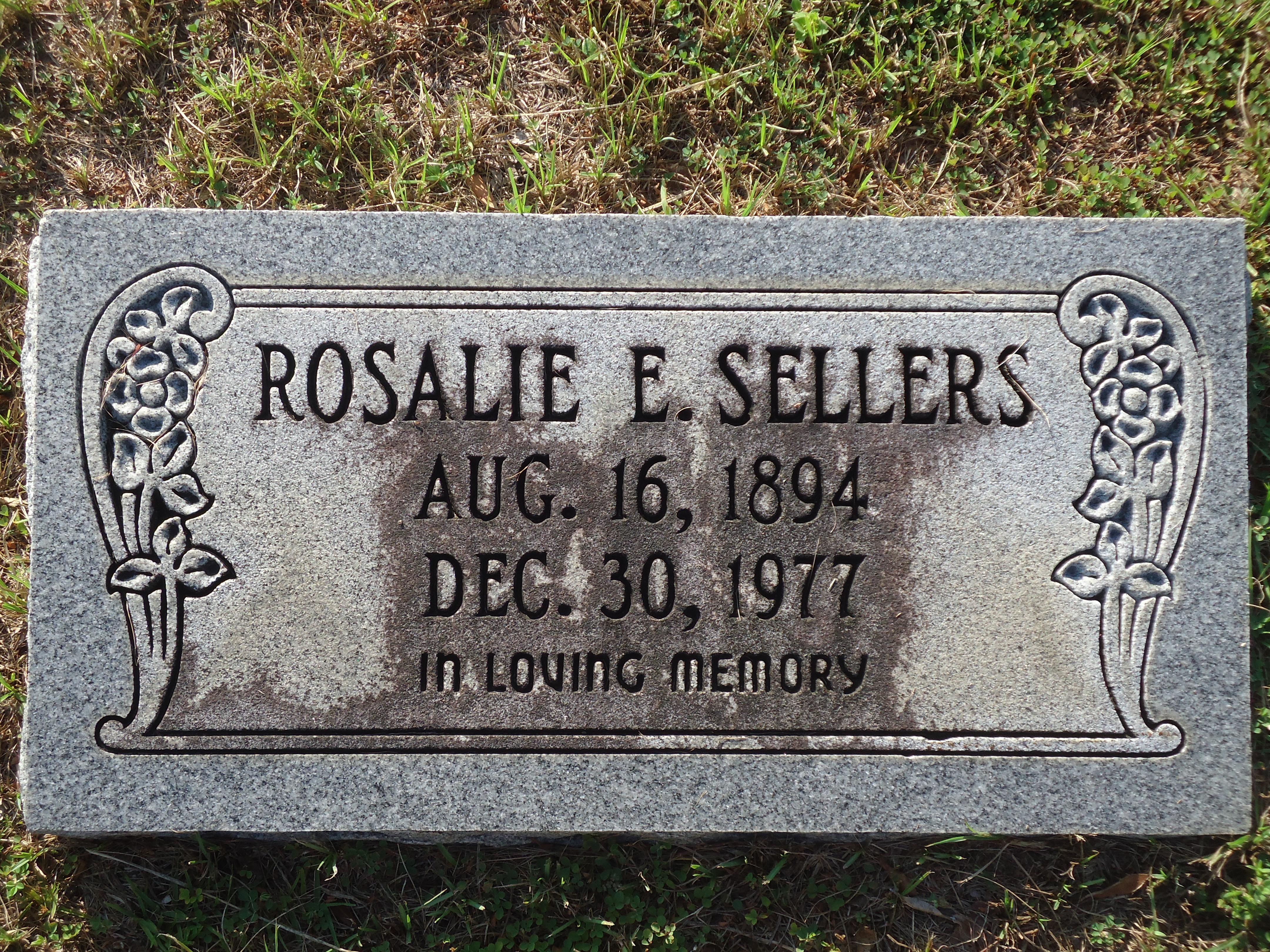 Rosalie E. Sellers