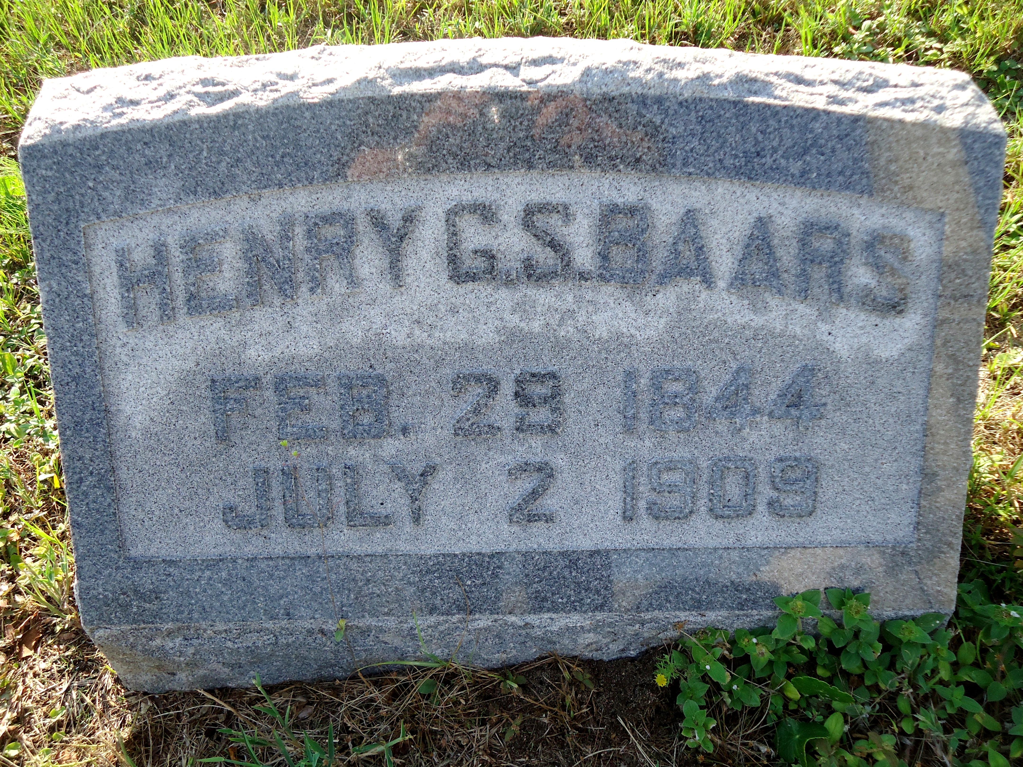 Henry Gerhardt S. Baars