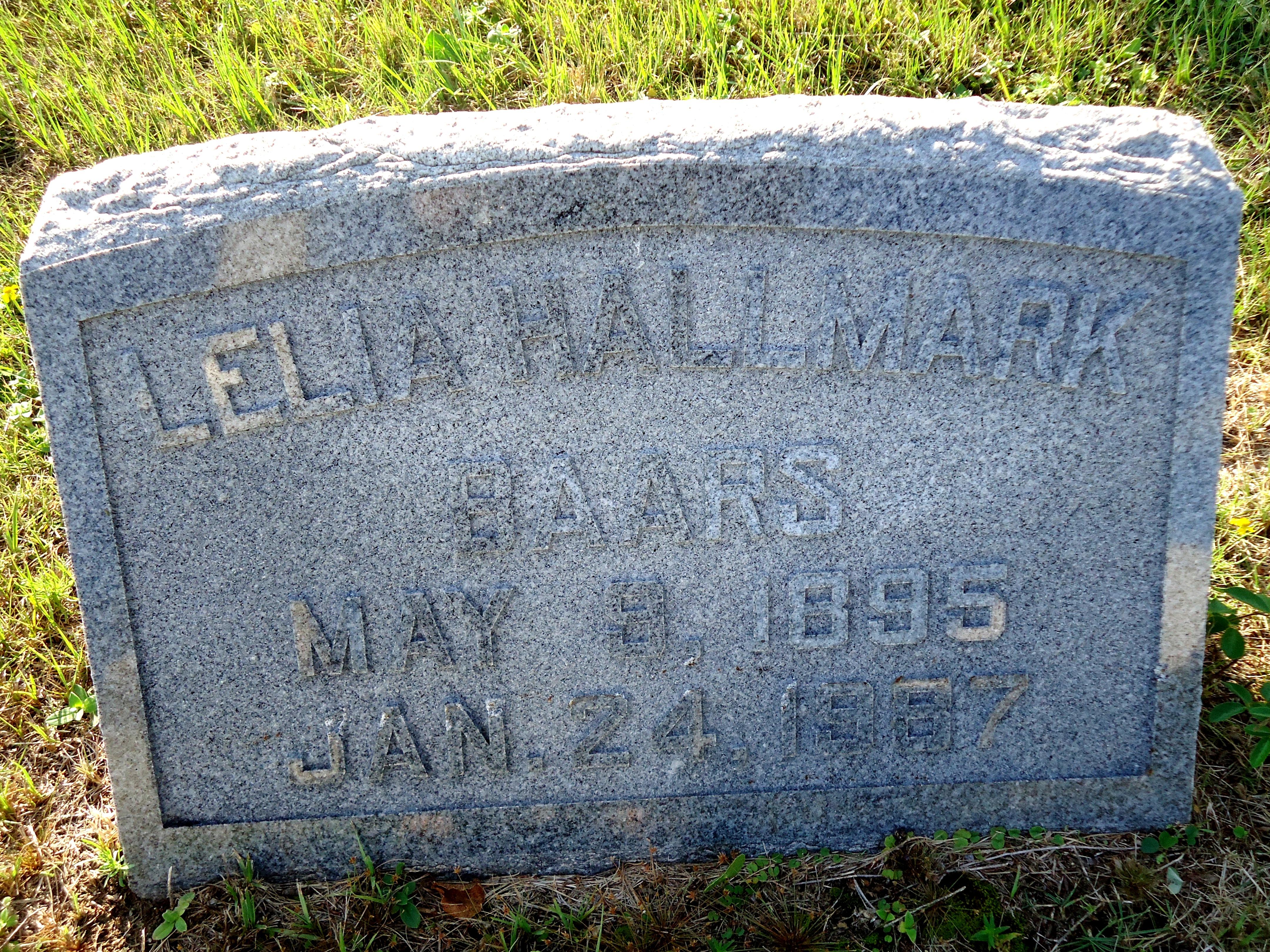 Lelia Catherine Hallmark Baars