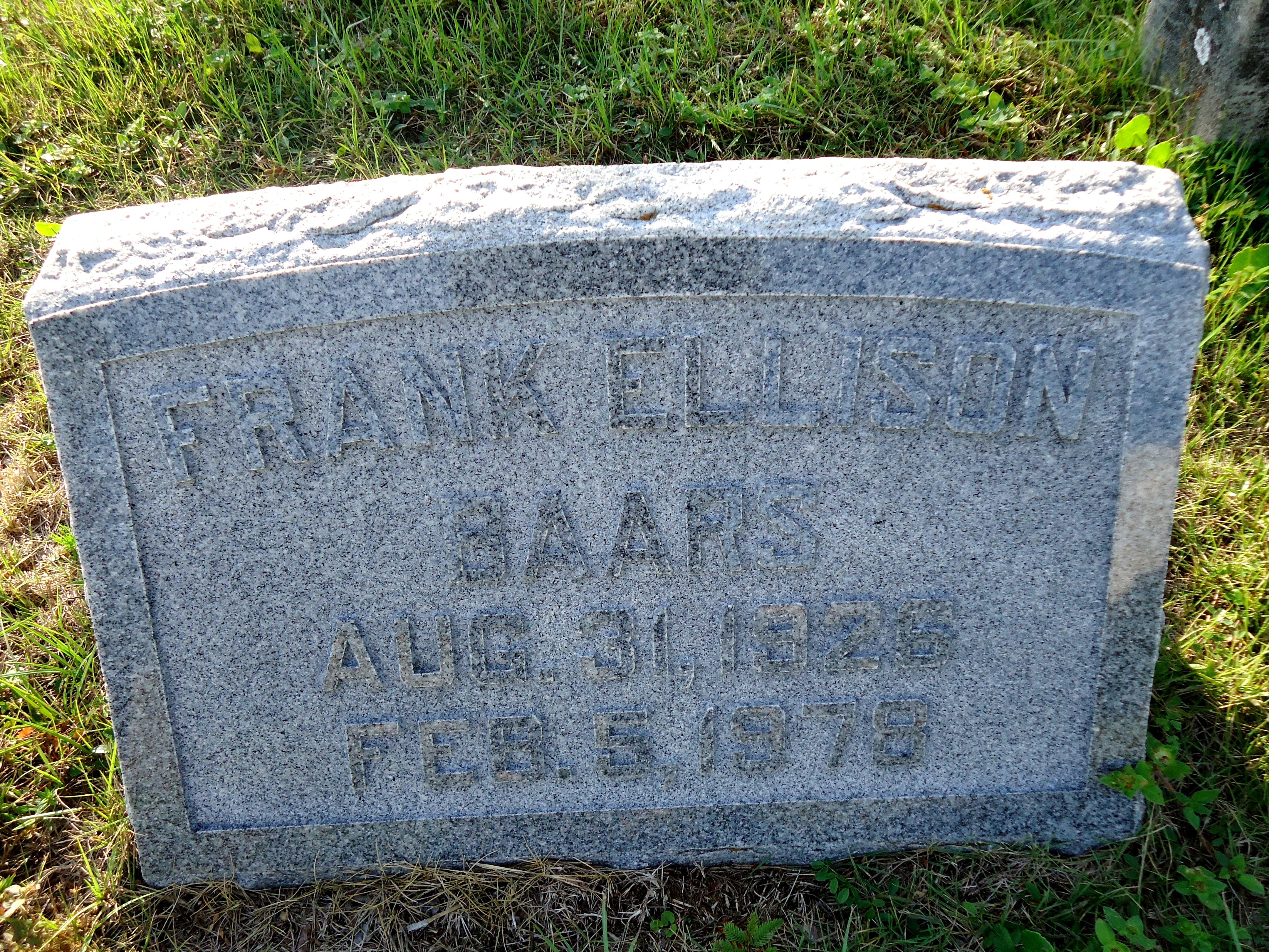 Frank Ellison Baars