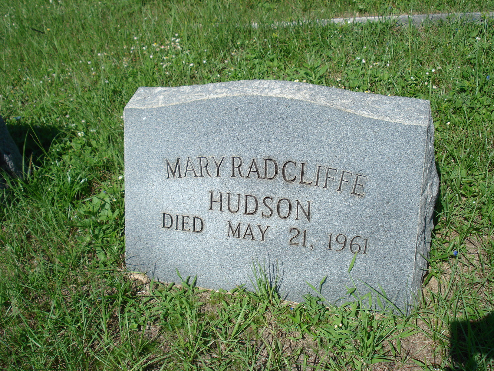 Mary Radcliffe Hudson