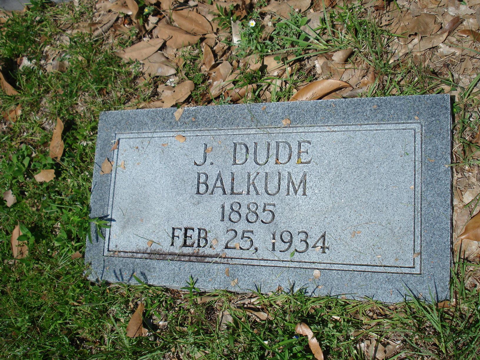 J. Dude Balkum