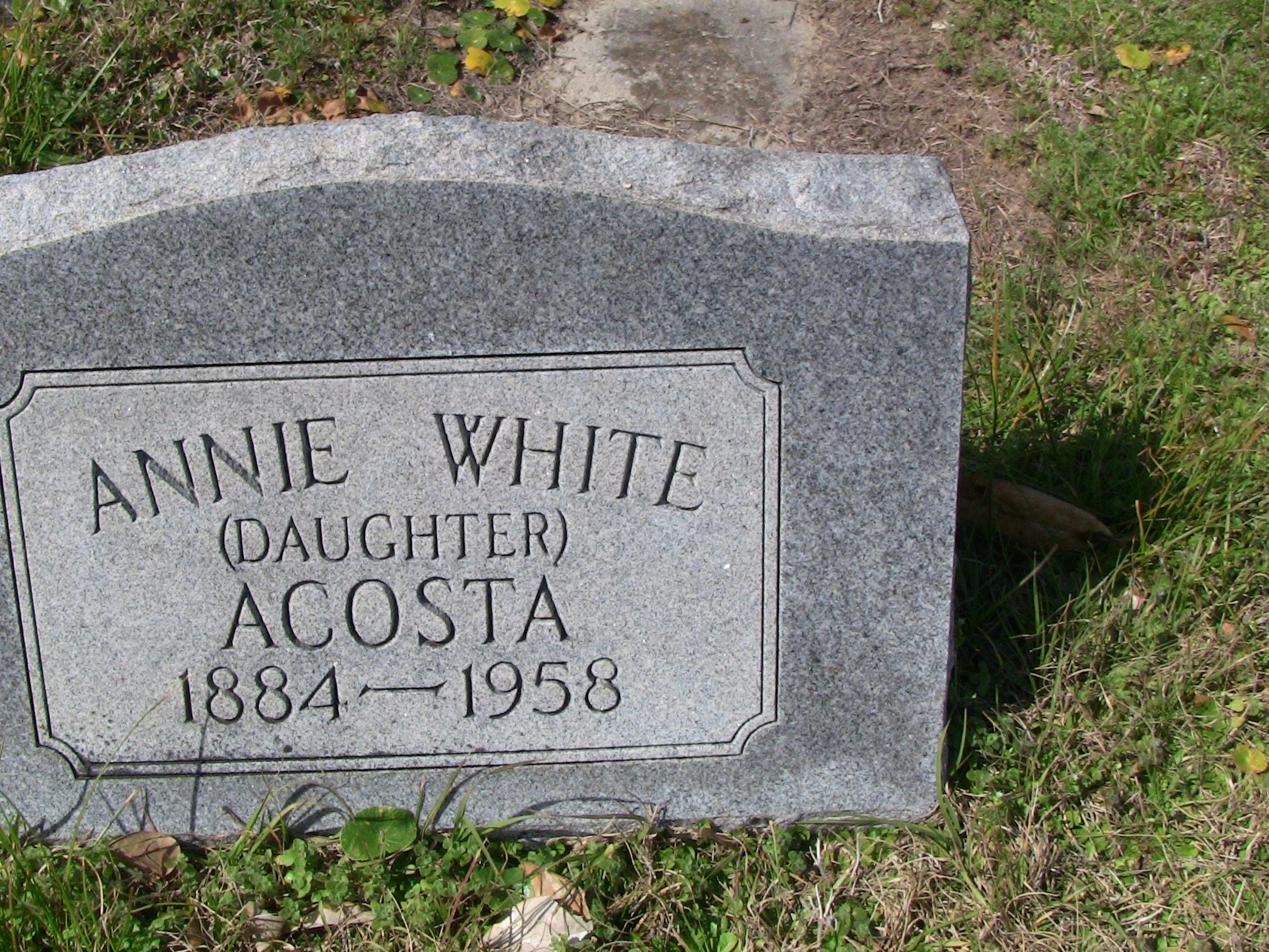 Annie White Acosta