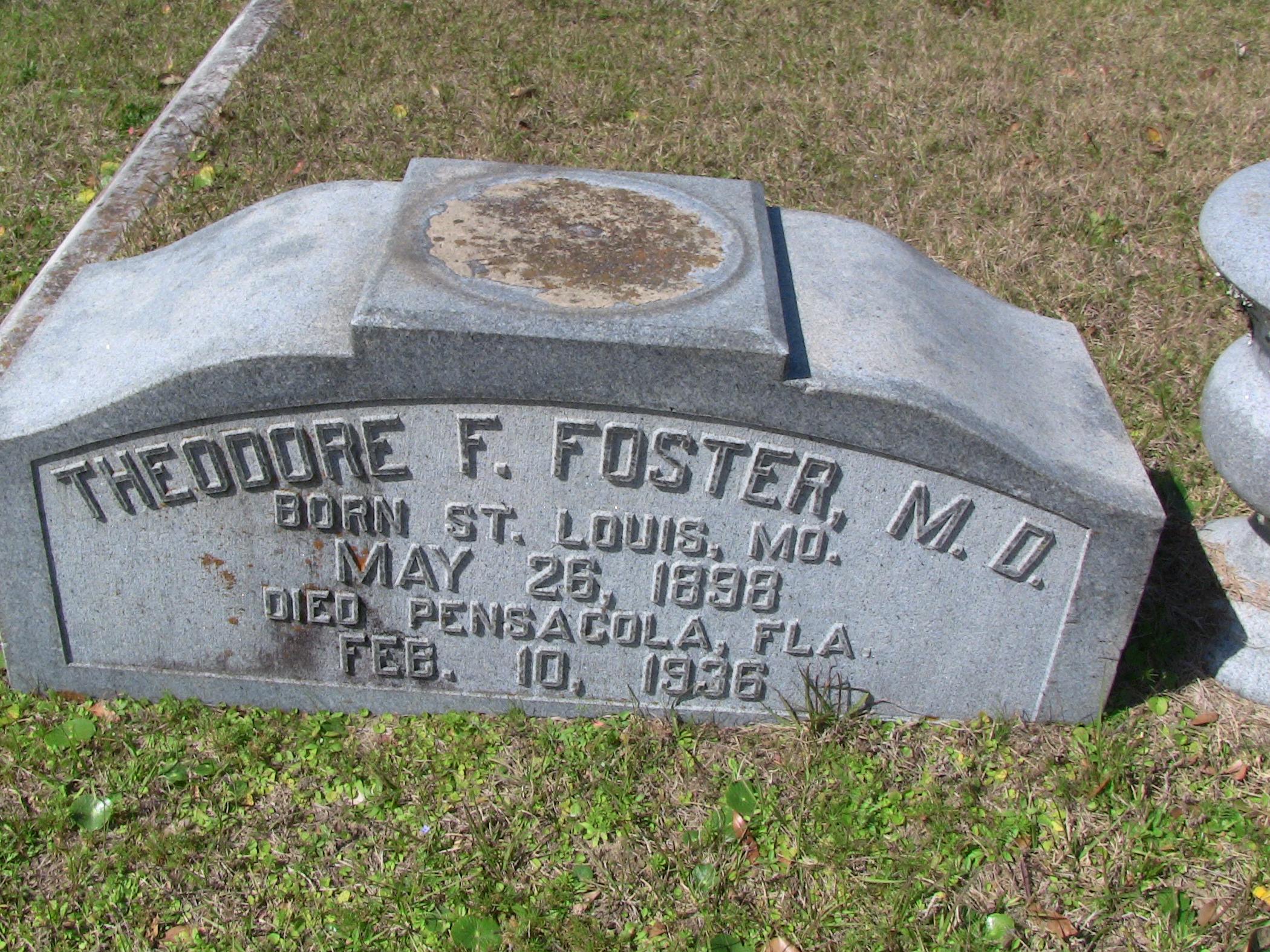 Theodore F. M.D. Foster