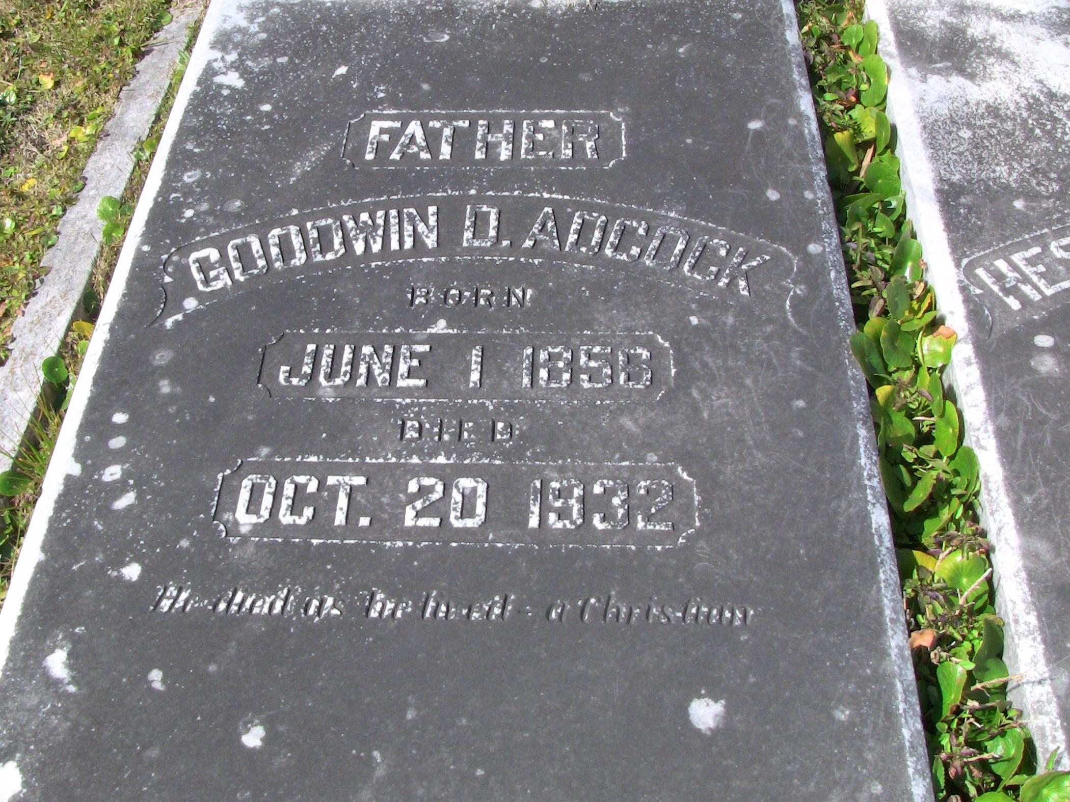 Goodwin D. Adcock