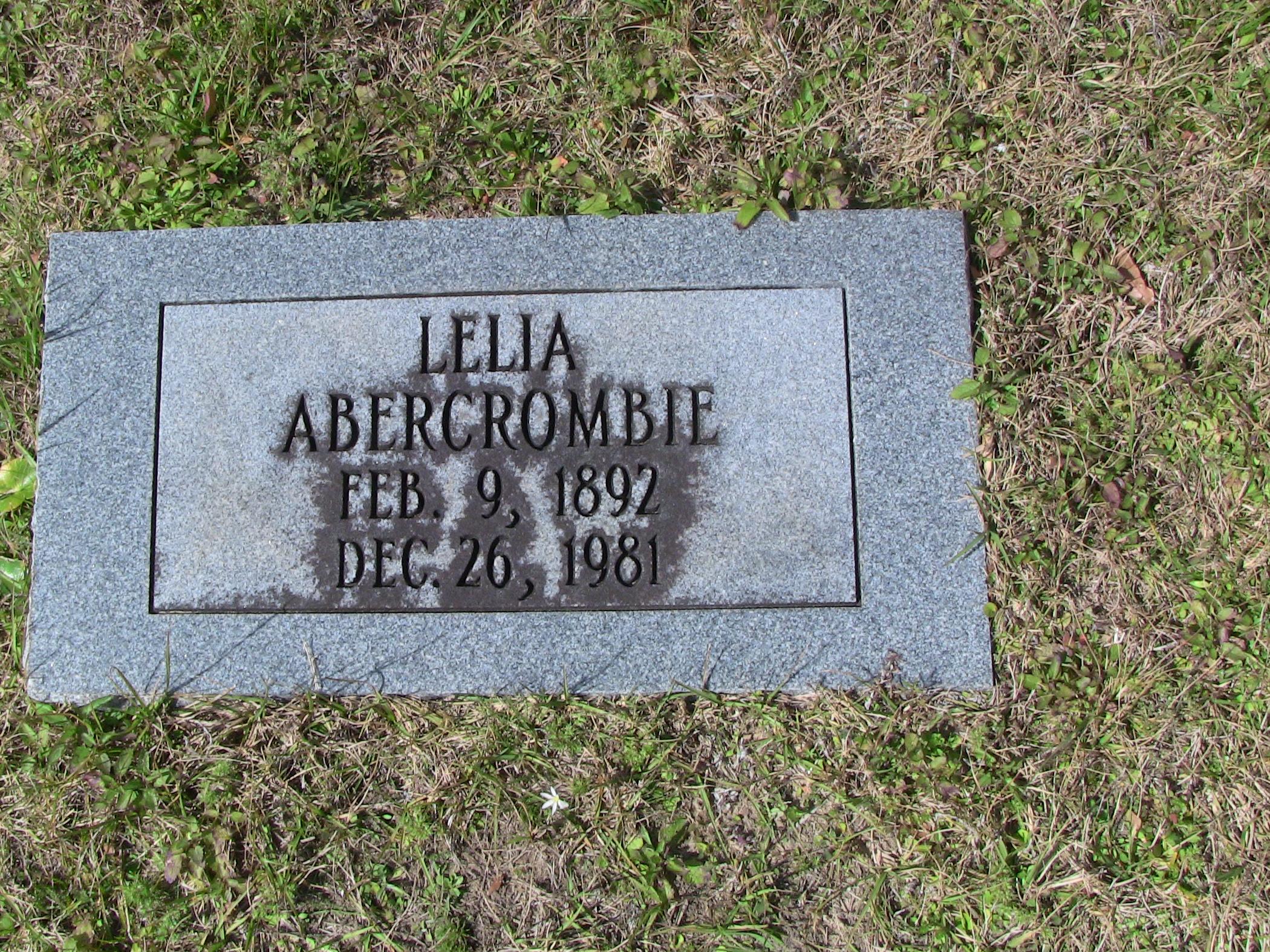 Lelia Abercrombie