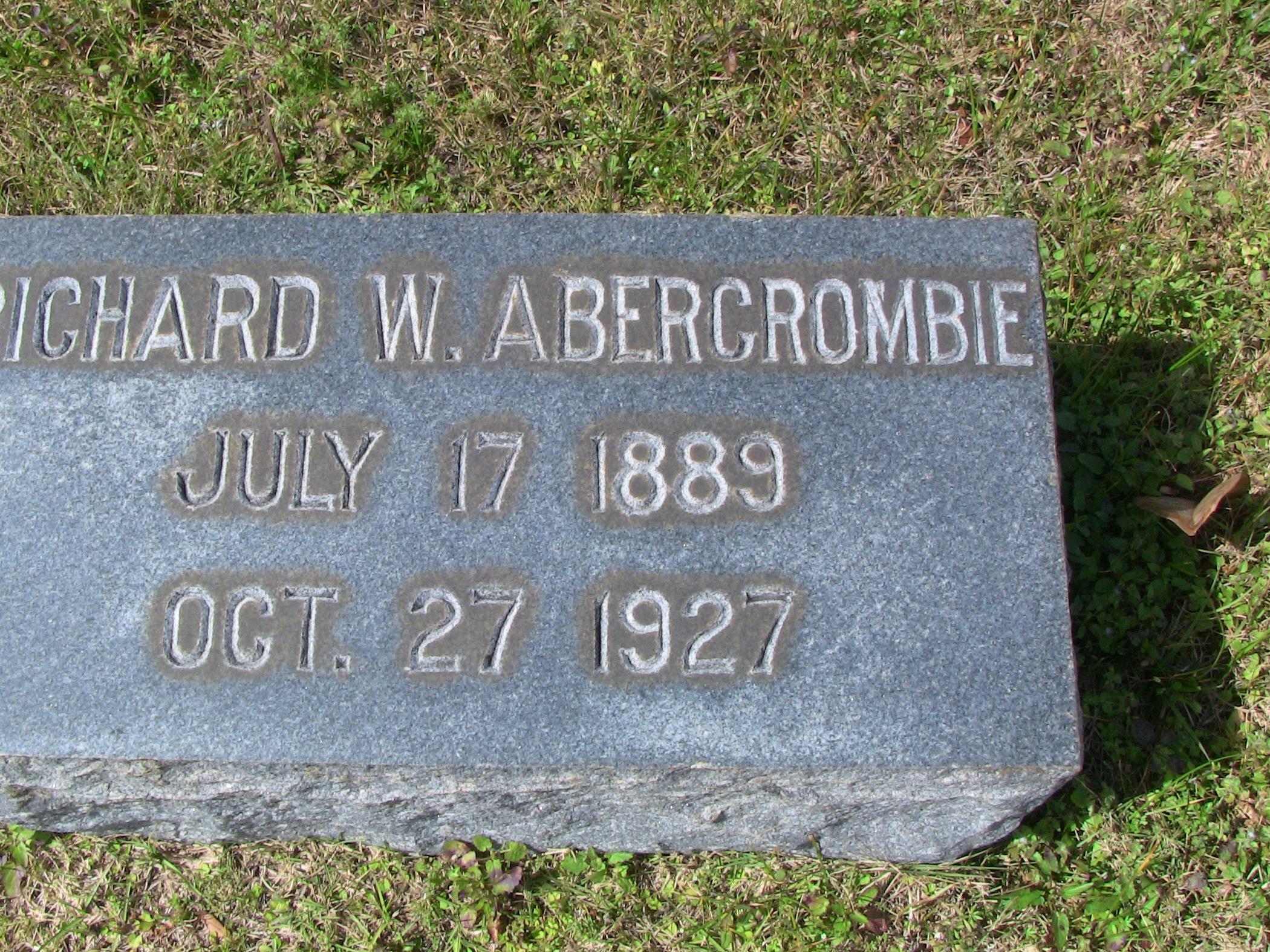 Richard W. Abercrombie