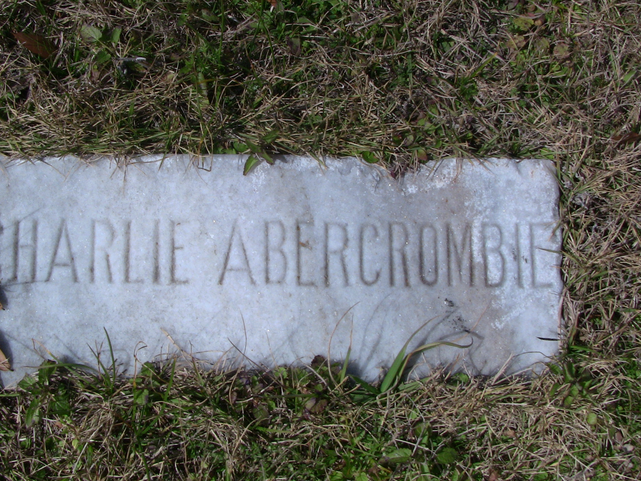Charlie Abercrombie